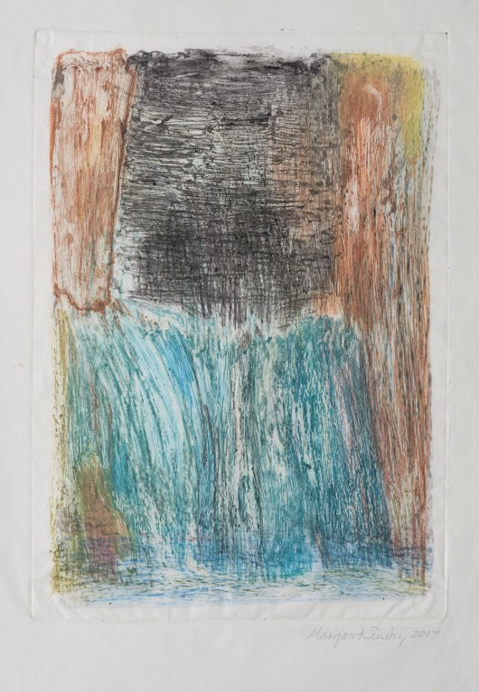 The Sheaves, monotype...